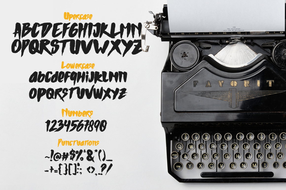 Mons Typeface example image 2