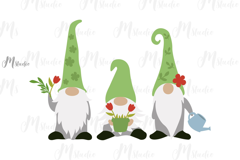 Spring Bundle svg Gnomes bee old truck monogram example image 7