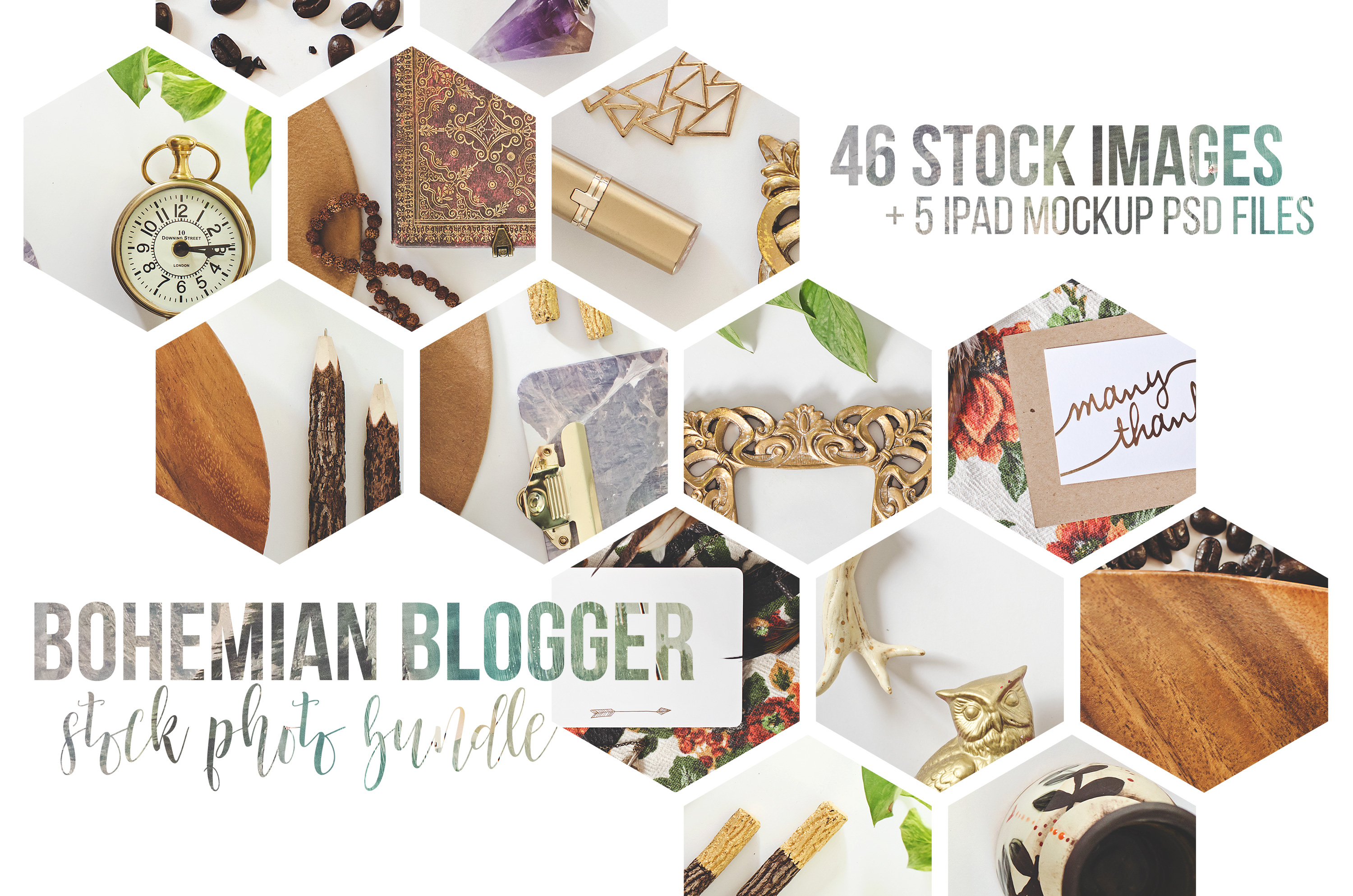 The Bohemian Blogger Stock Photography example image 8
