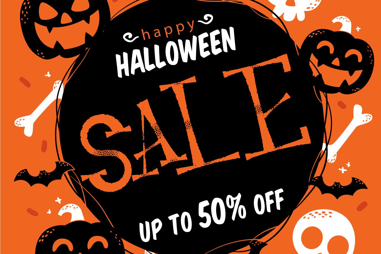Resquro Halloween | Decorative Font example image 4