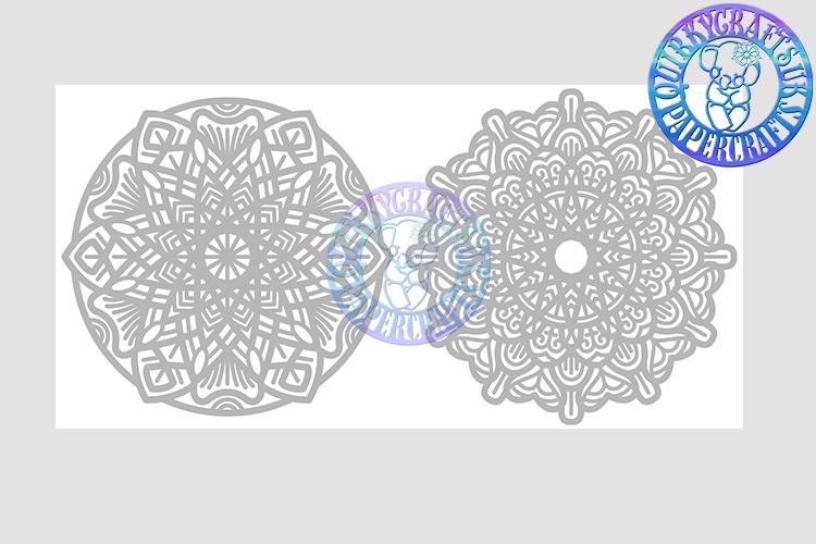 Big Bundle JULY 2018 - 31 Papercutting Templates example image 21