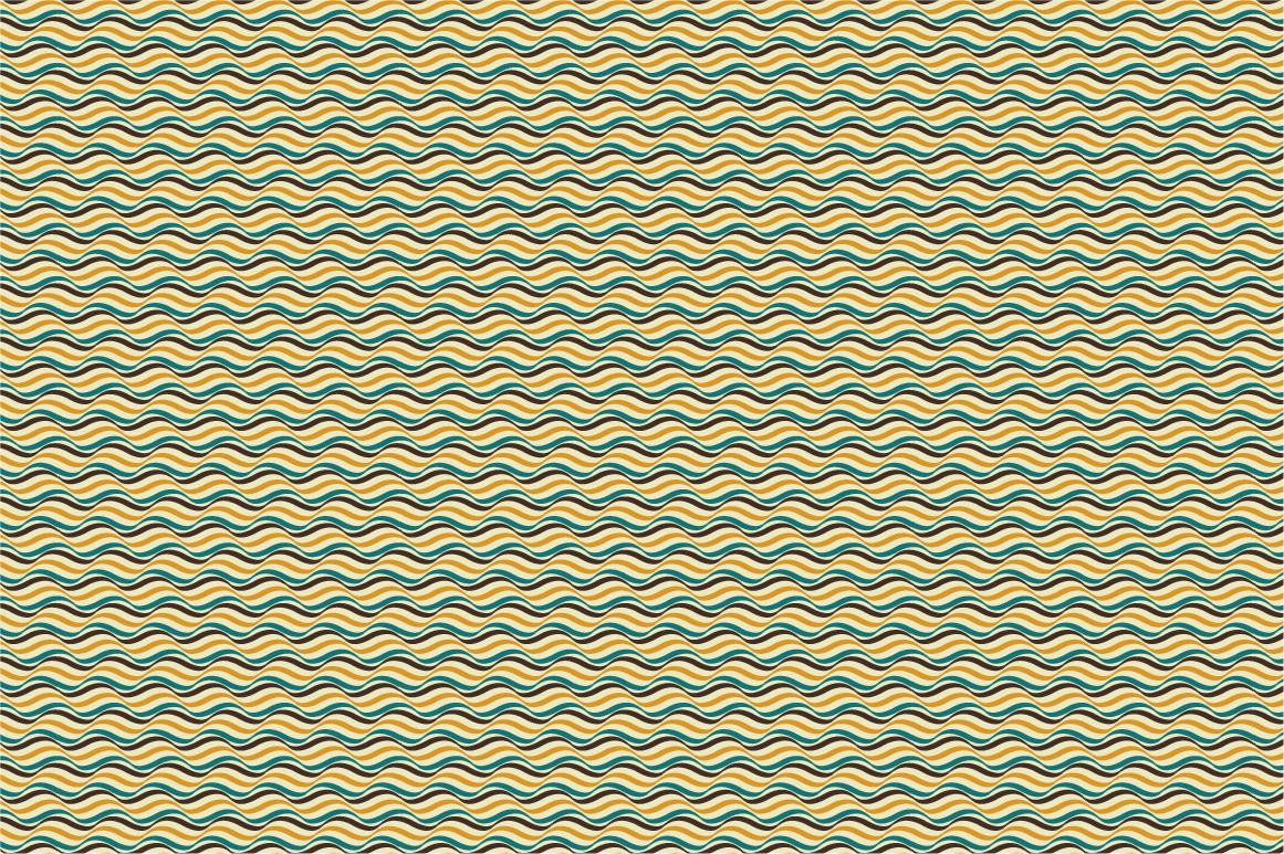 Retro patterns - seamless. example image 5
