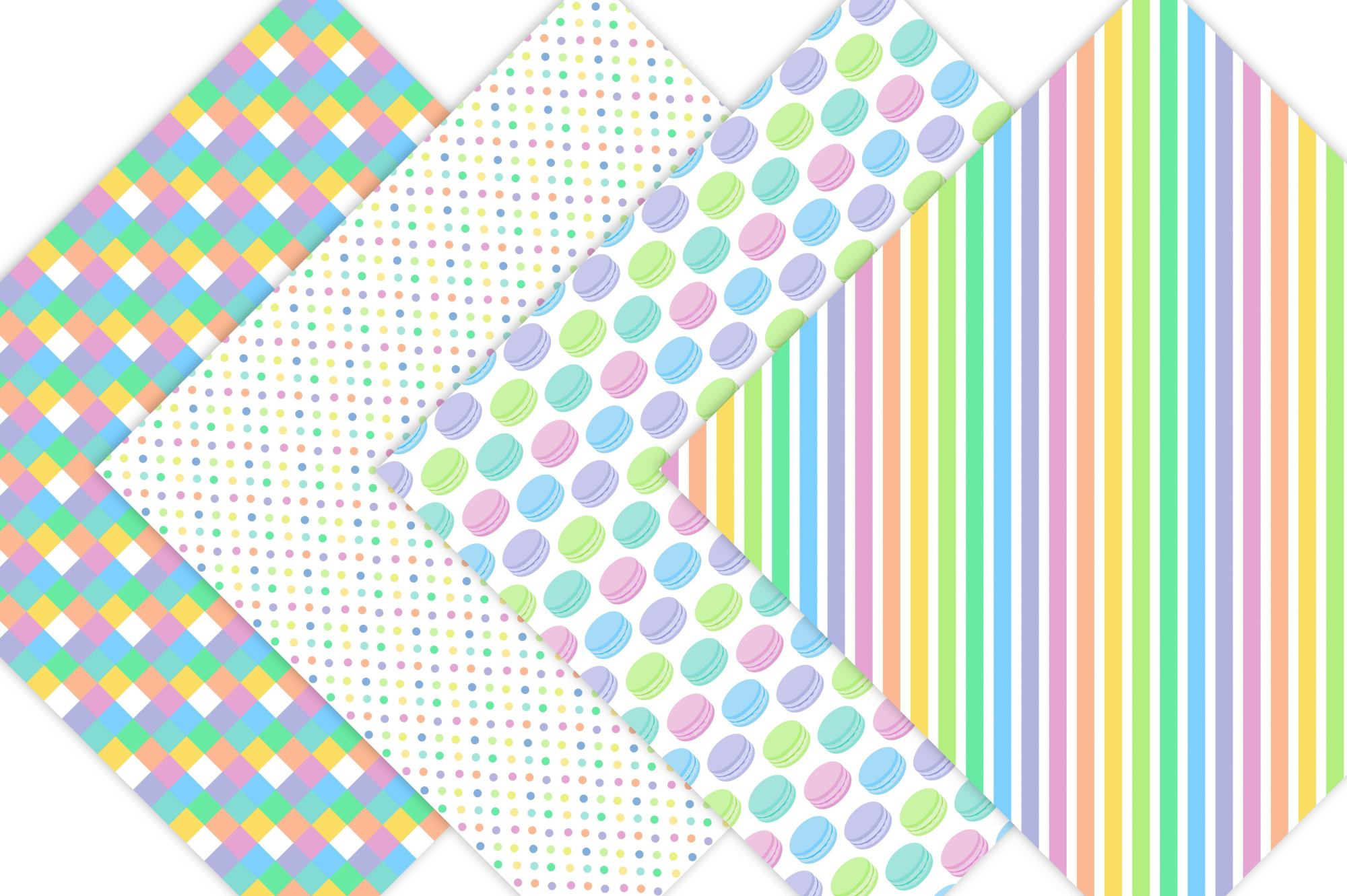 Candy Pattern Backgrounds example image 3