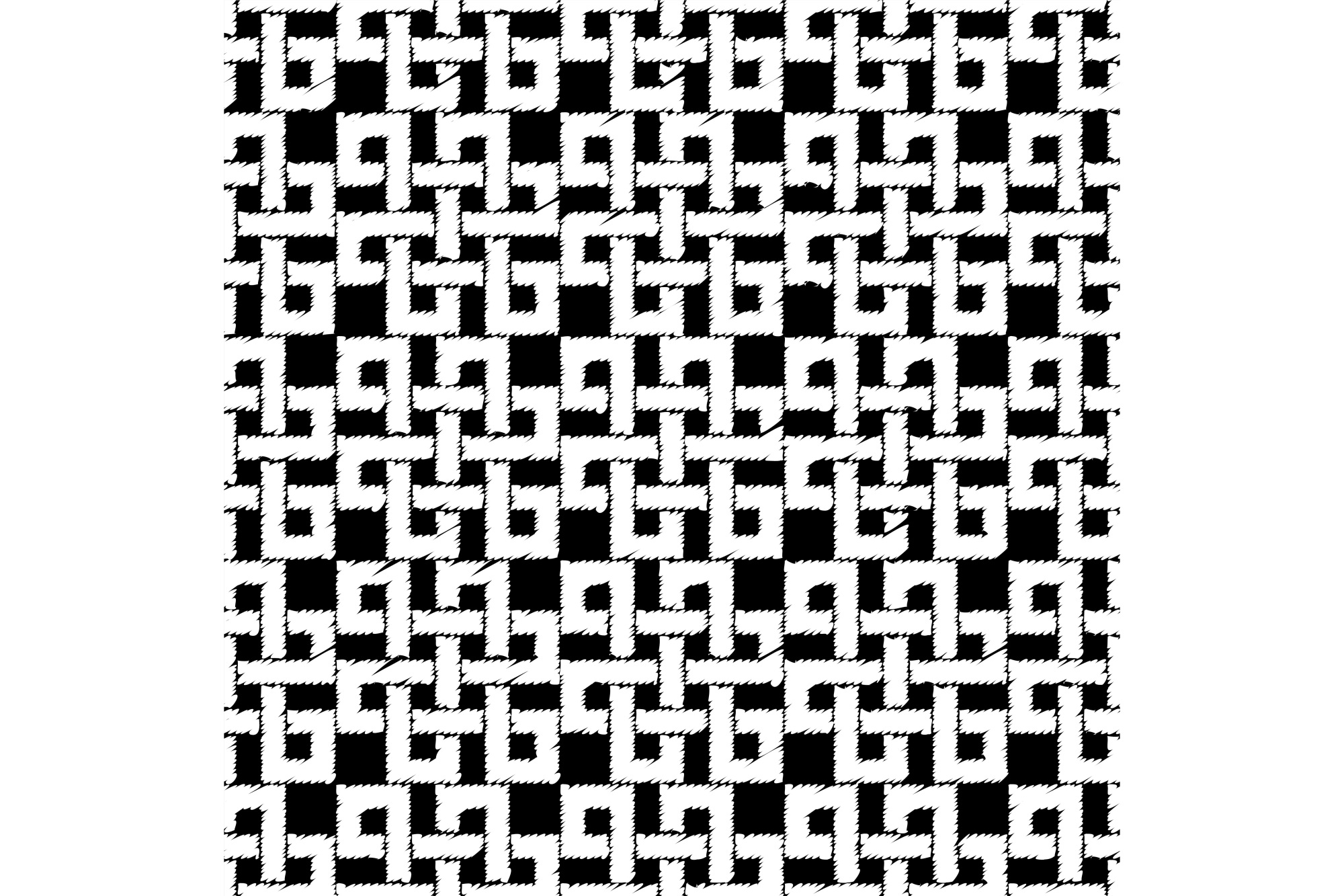 Background seamless celtic pattern. example image 1