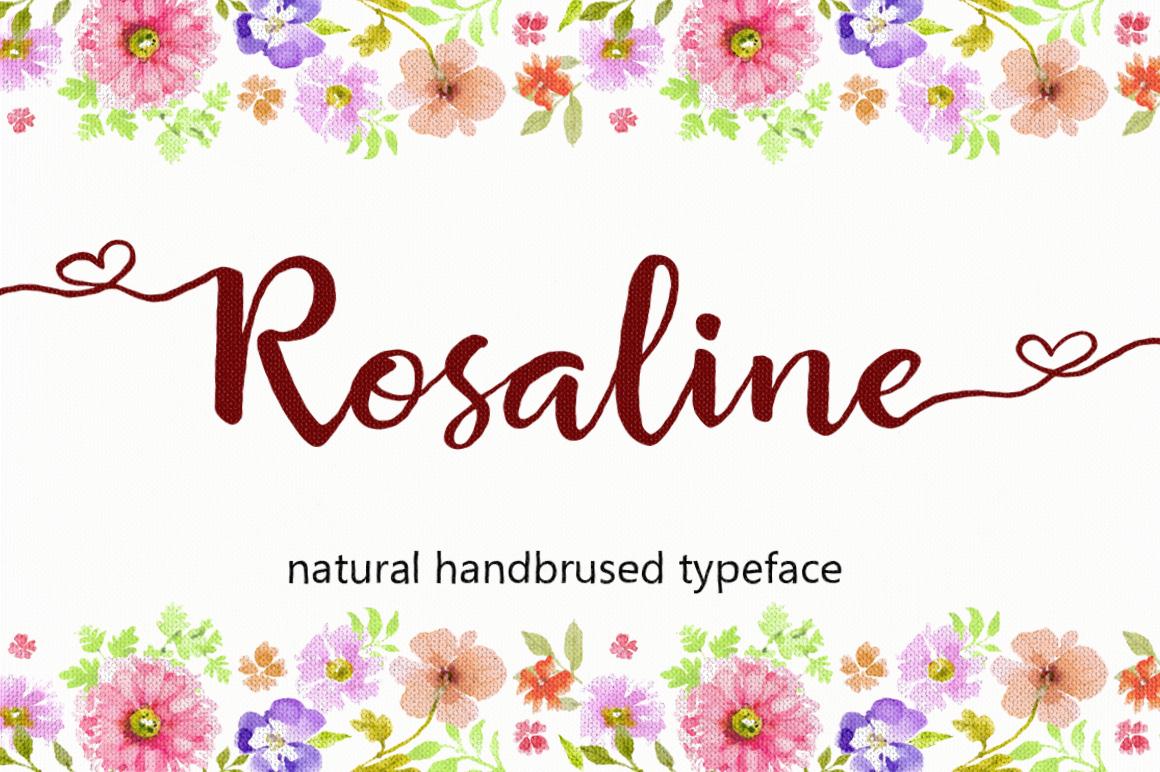 The Script Font Bundle example image 24