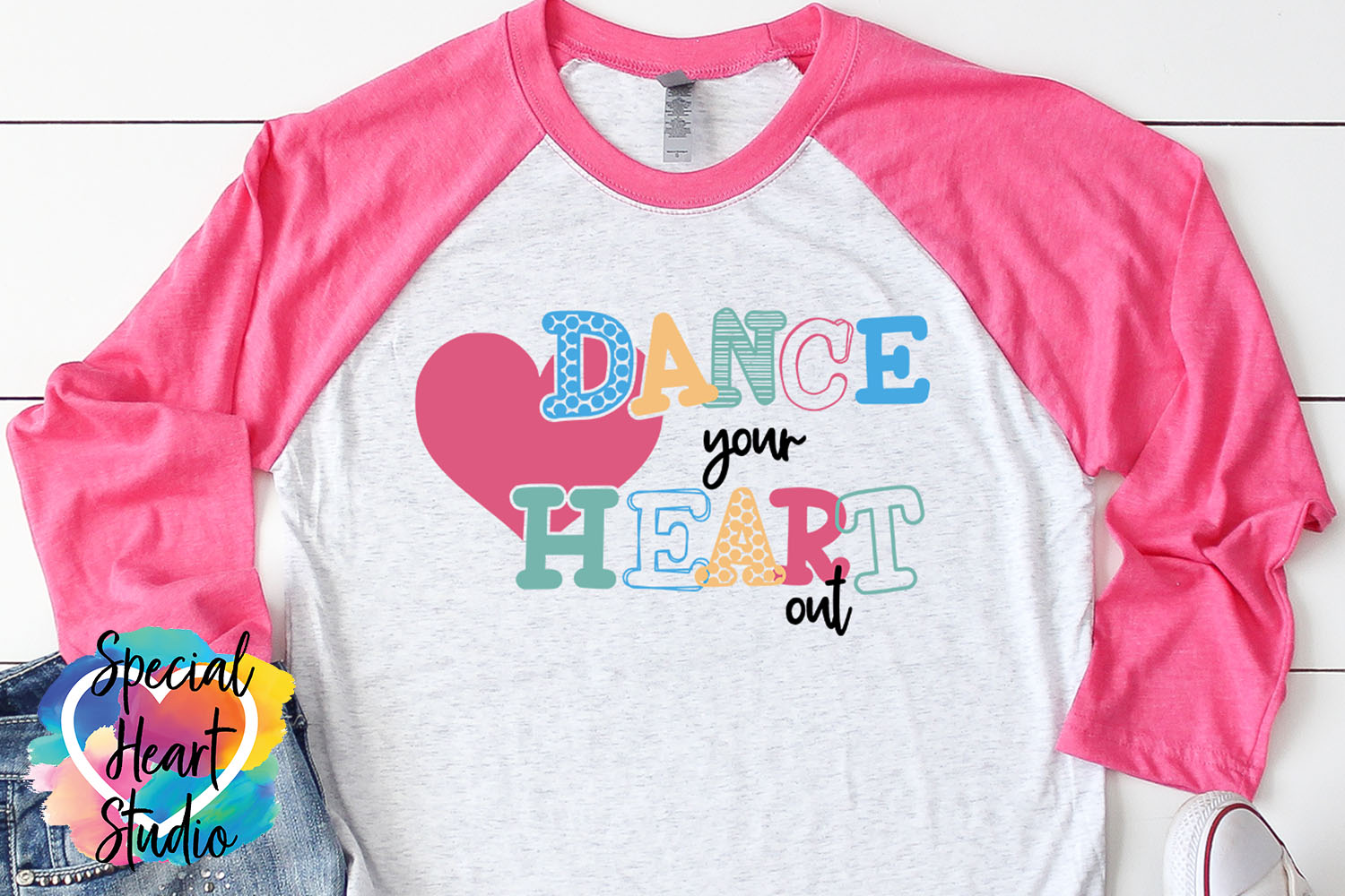 Dance Your Heart Out - Dance SVG example image 1