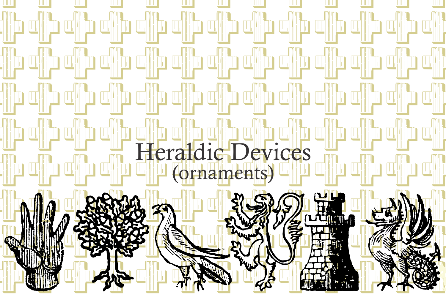 Heraldic Devices Premium (pack)  example image 11