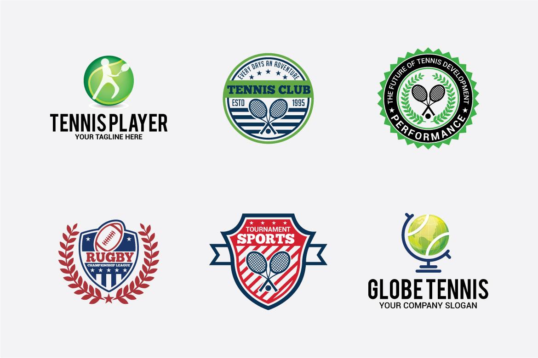 66 SPORTS Logo Templates BUNDLE example image 2