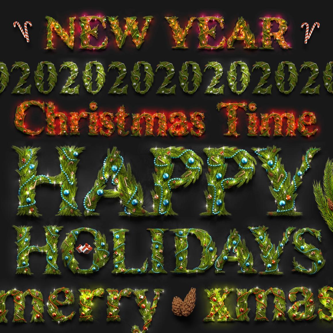 Christmas Animated Typeface example image 5
