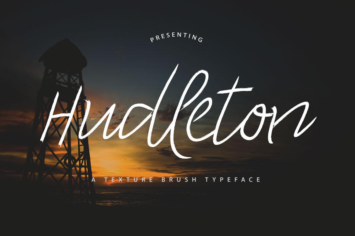 Hudleton Typeface example image 6