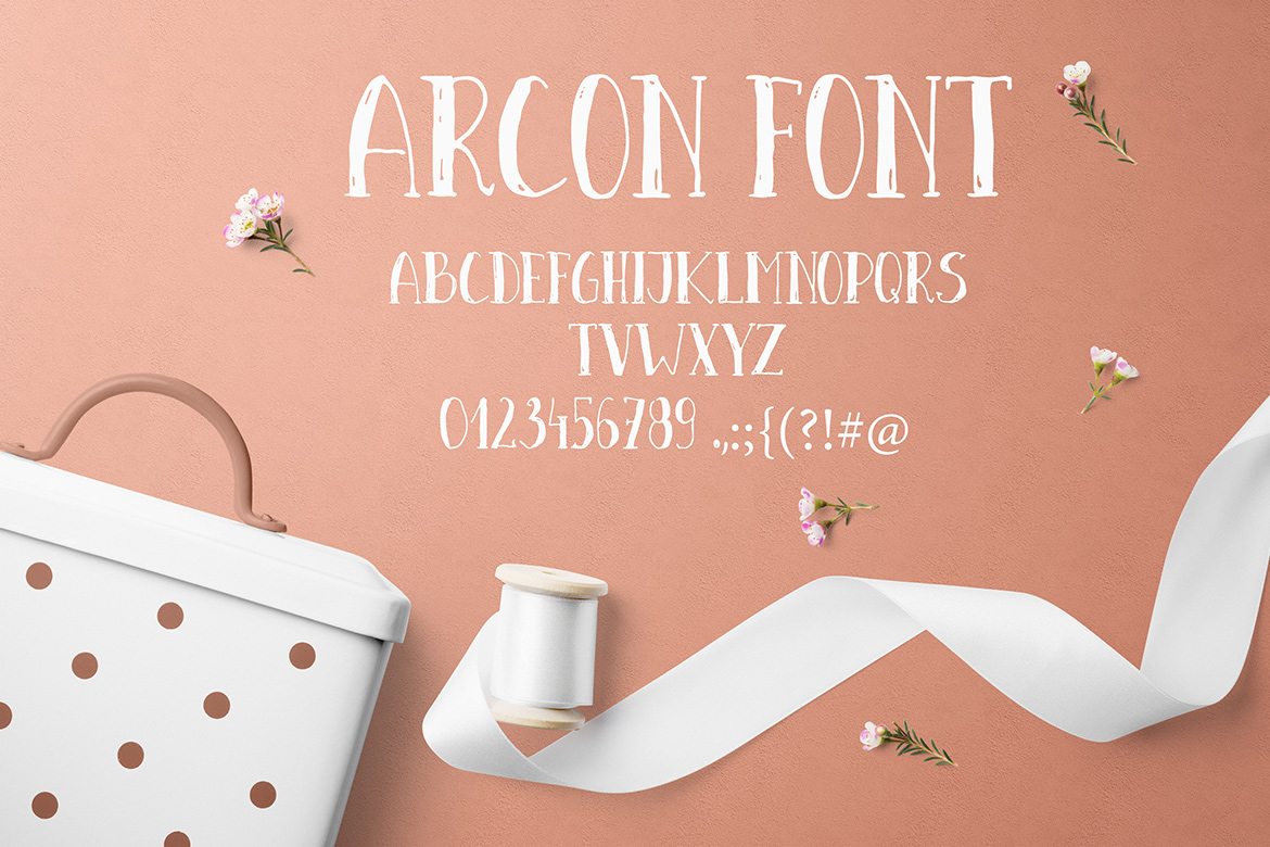 Arcon font example image 4
