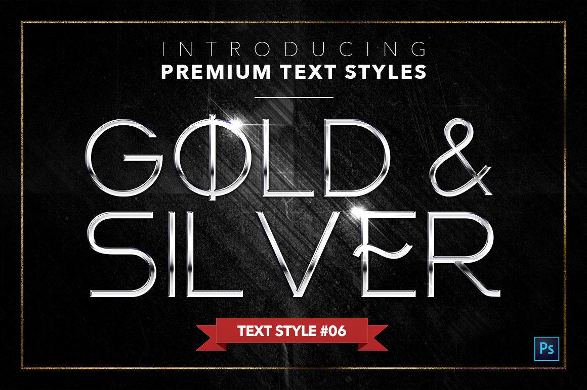 Gold & Silver #4 - 20 Text Styles example image 18