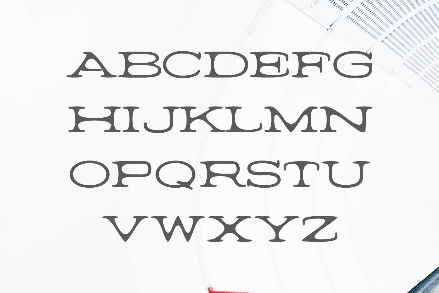 Barric A Serif Font Family example image 2