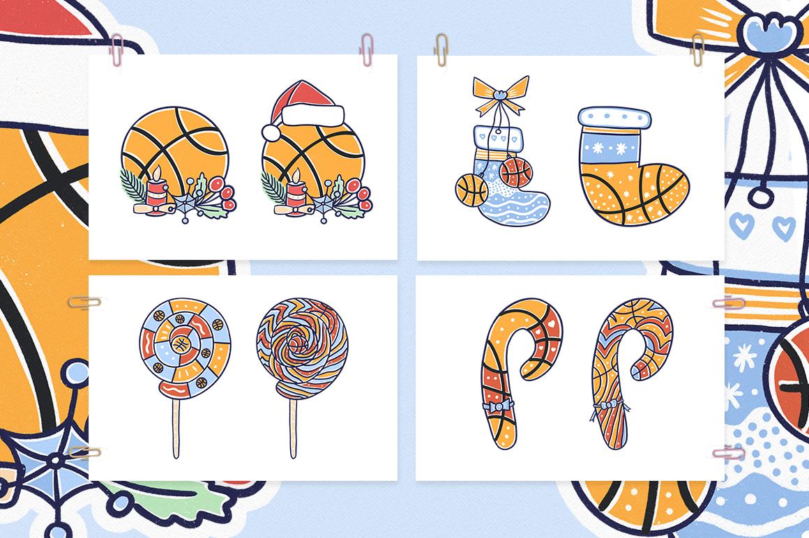 Christmas Basketball example image 2