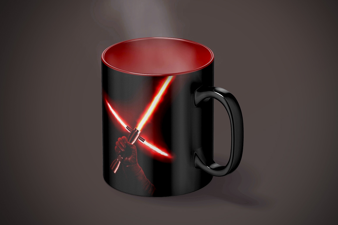 Magic Mug Animated Mock up example image 9