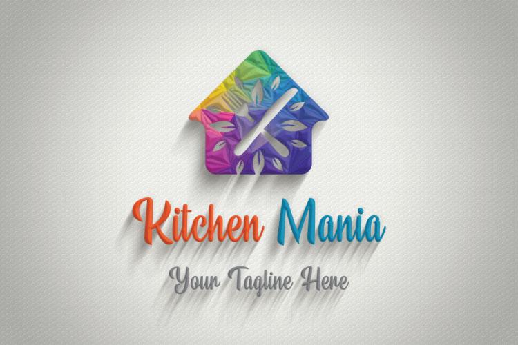 Hut Shape Kitchen Logo example image 4