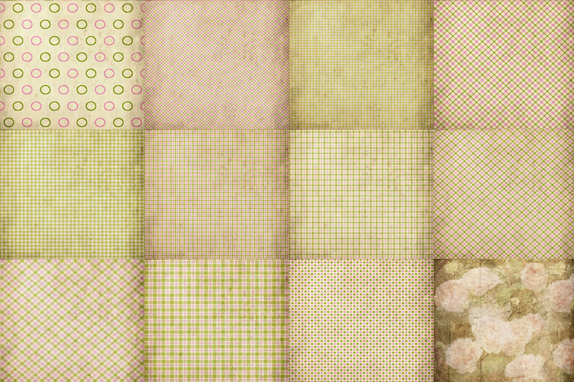 55 Romantic Vintage Background Papers example image 3