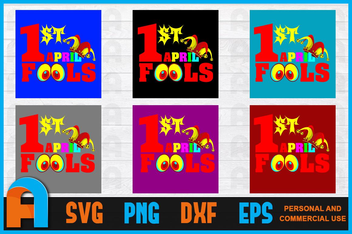 1st April Fools T-Shirt Design example image 2