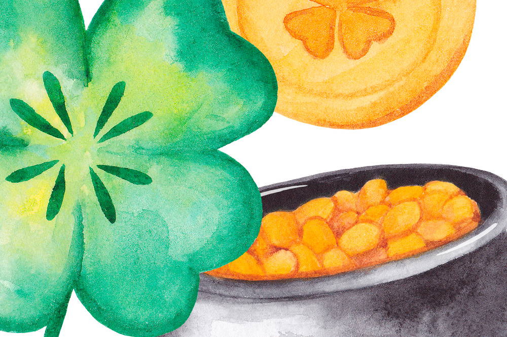 St Patrick's day clipart Watercolor graphics example image 4