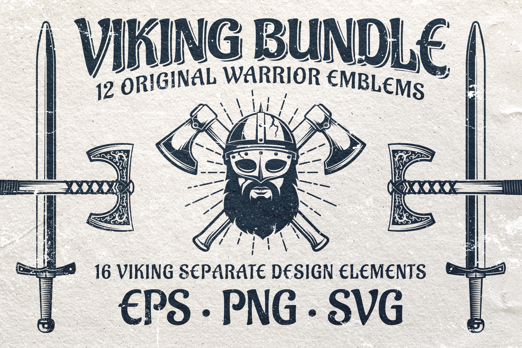 Viking Emblem Bundle example image 1