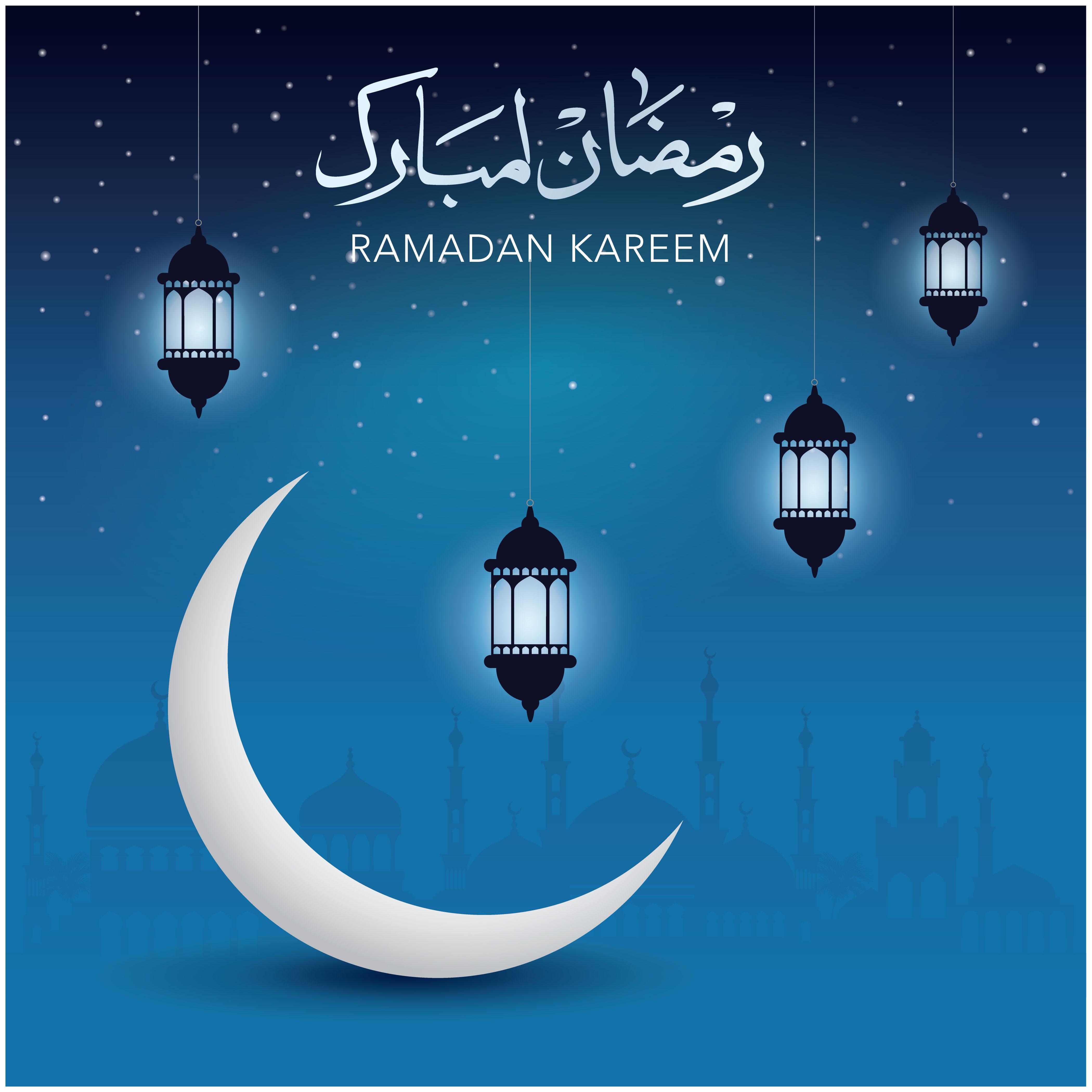 Ramadan Kareem Vector Posters example image 5