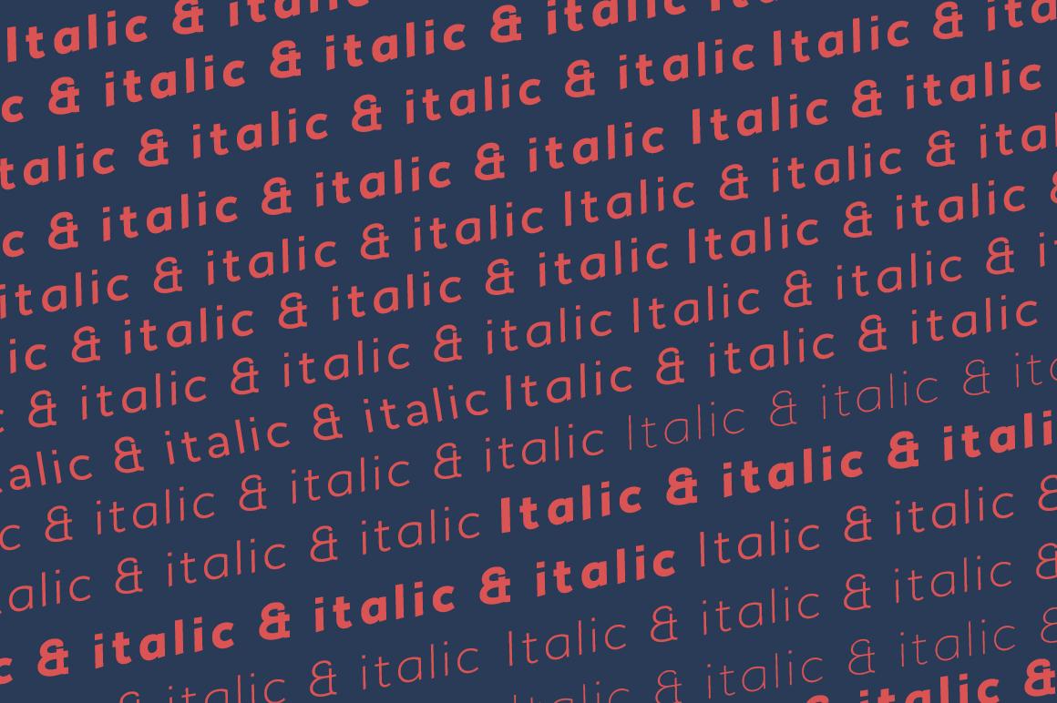 Noiche Sans Serif example image 5