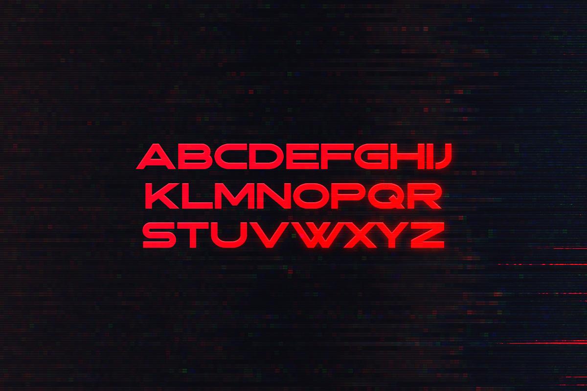 Wraith Typeface example image 2