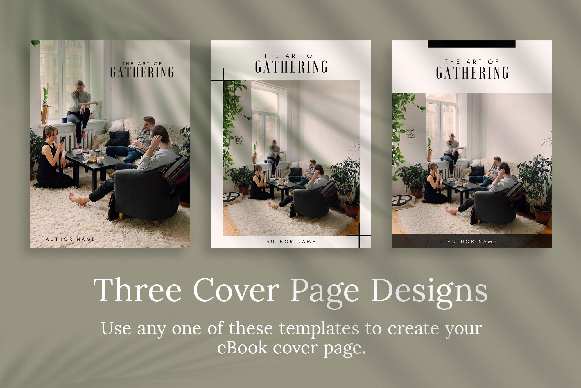 eBook or Lead Magnet Canva Template | Gathering example image 4