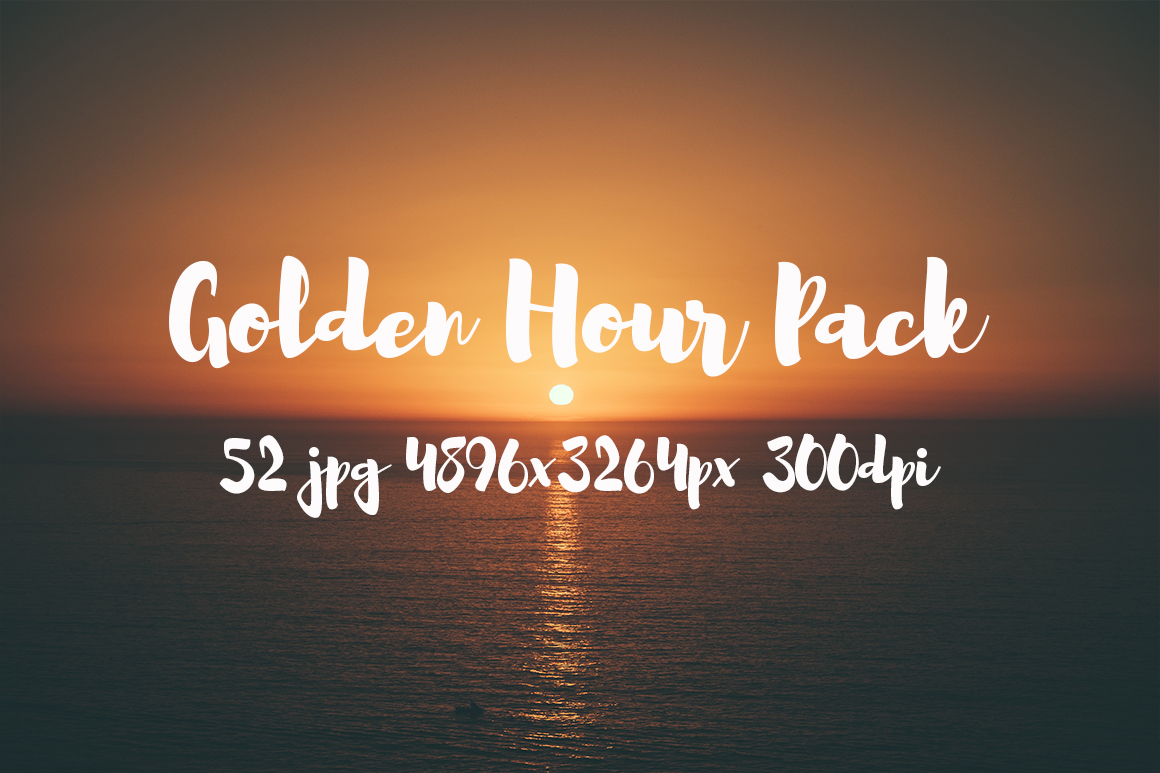 Golden hour Pack example image 22