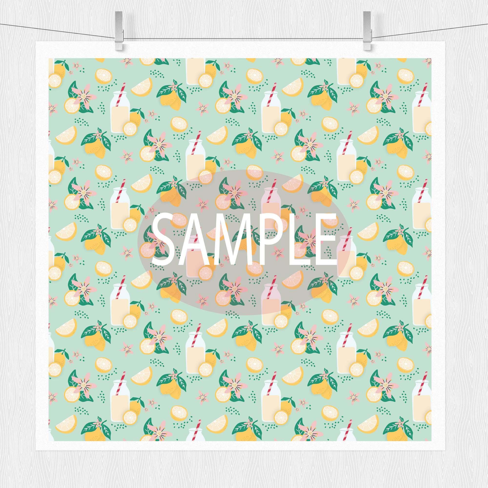 Spring Digital Paper Pack - Spring Showers example image 2
