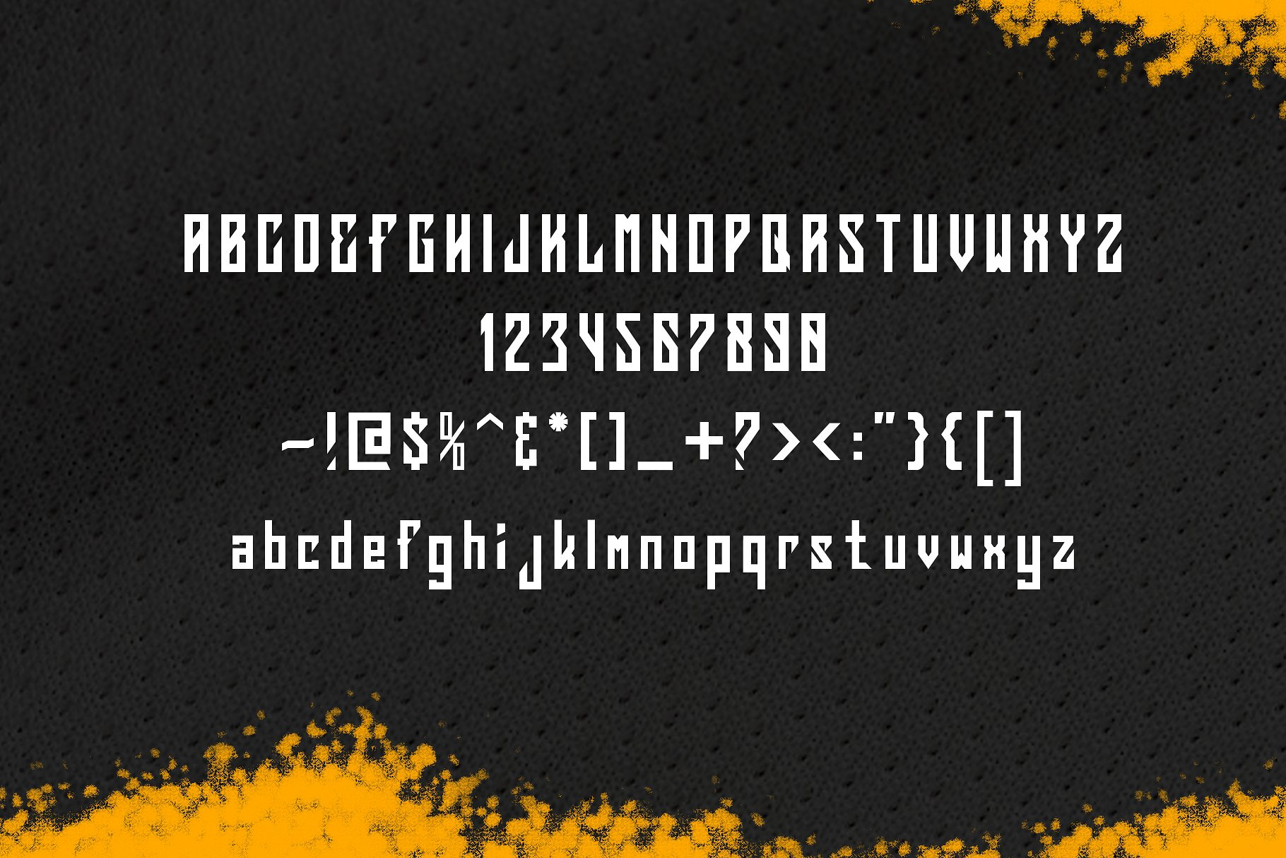 Squareslam sports and esports font example image 6