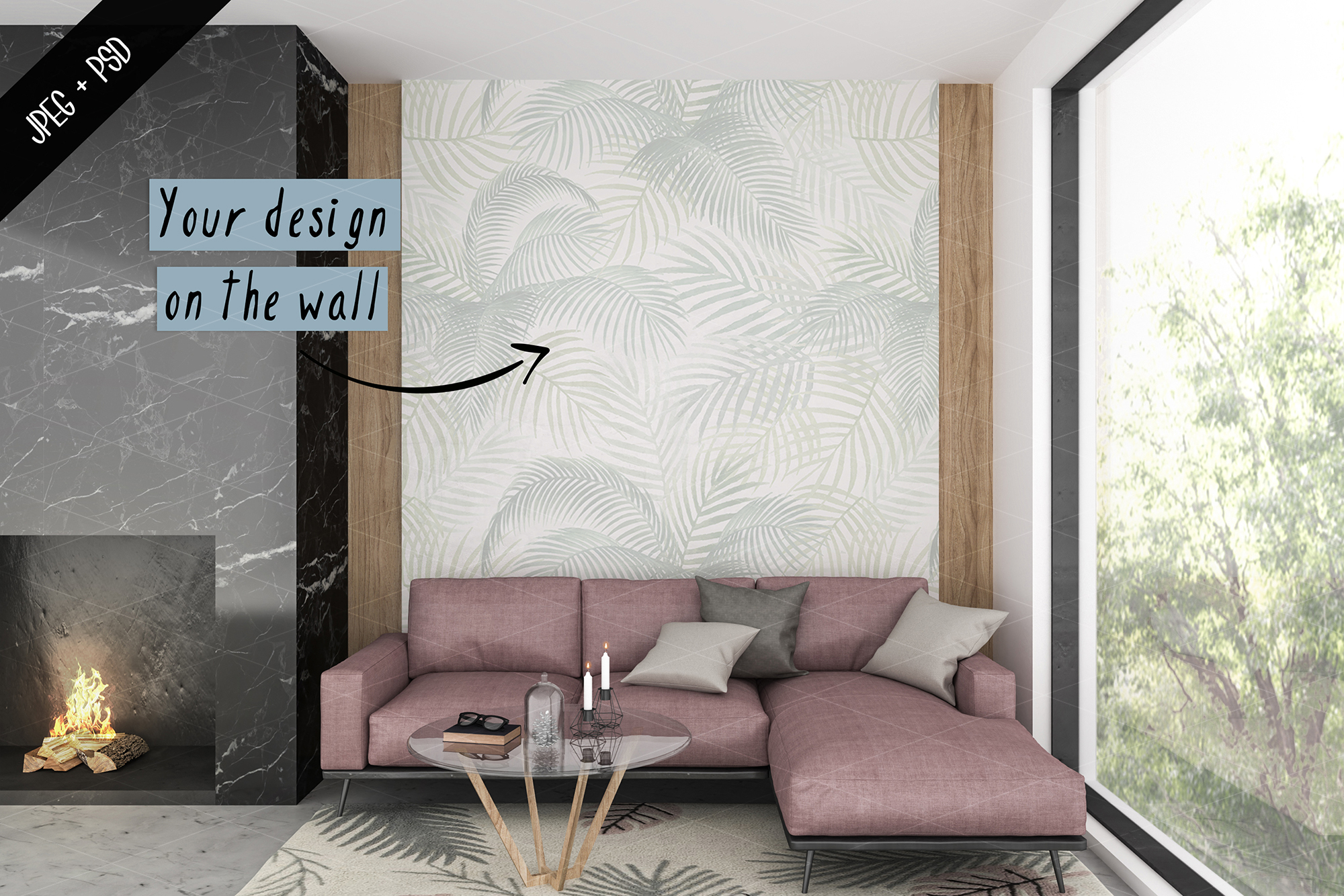 Frame mockup creator - All image size - Interior mockup example image 5