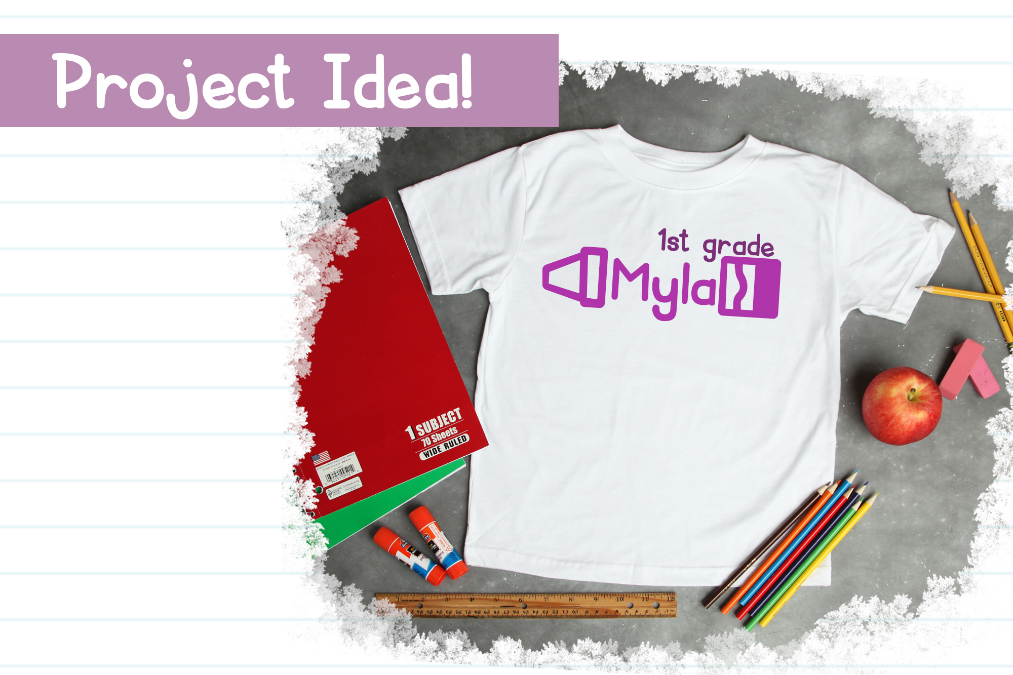Schoolish| A Cute Back to School Font| With Doodles! example image 4