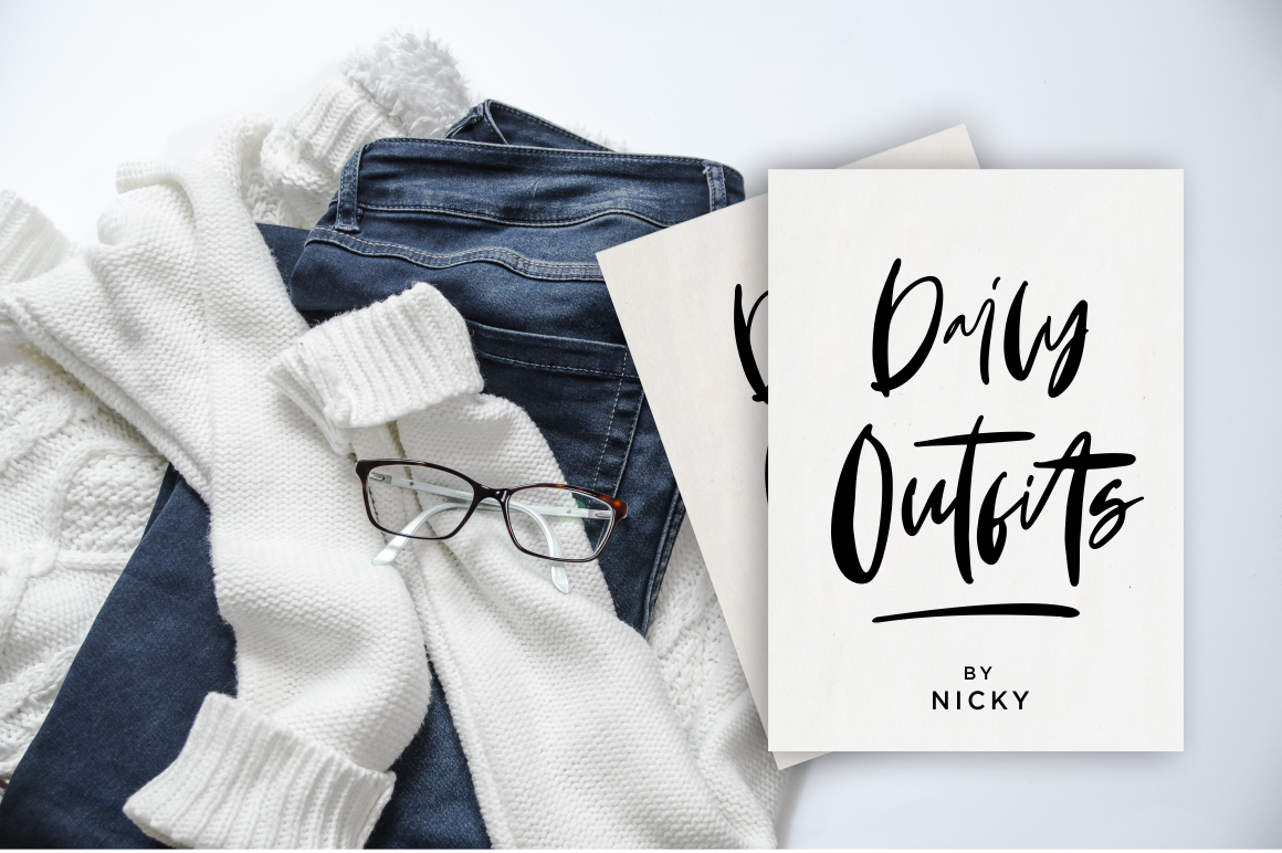 Monday Vibes - Handwritten Font example image 3