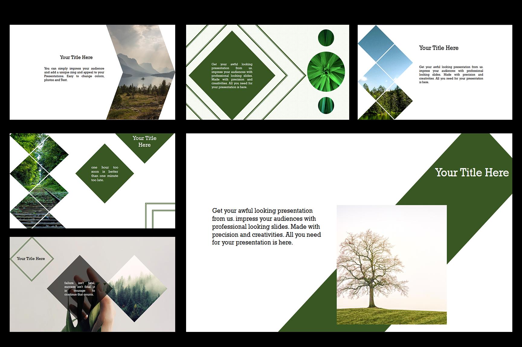 Nature Google Slide Presentations example image 2