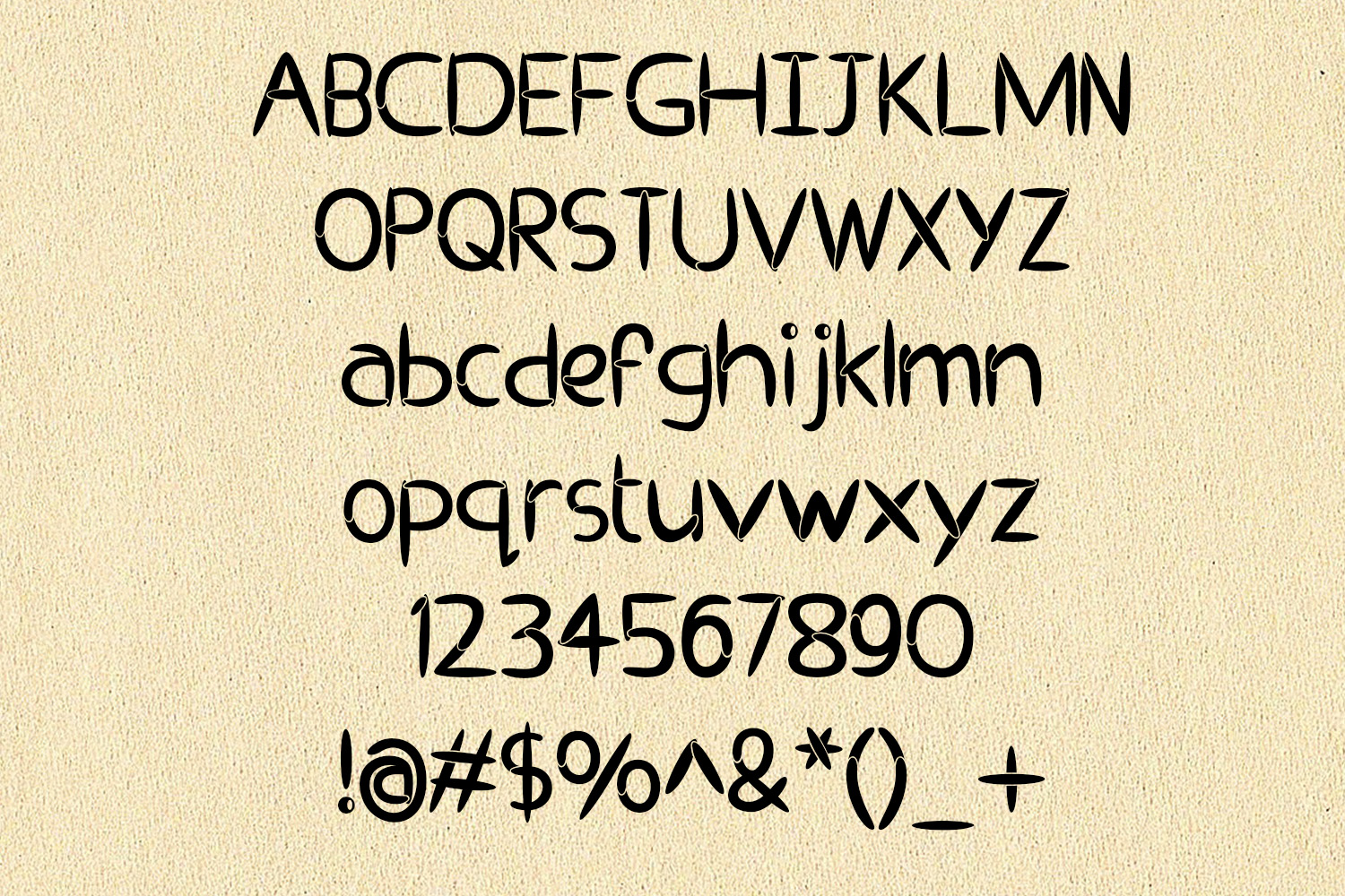 EP Pipes - Brush Font example image 2