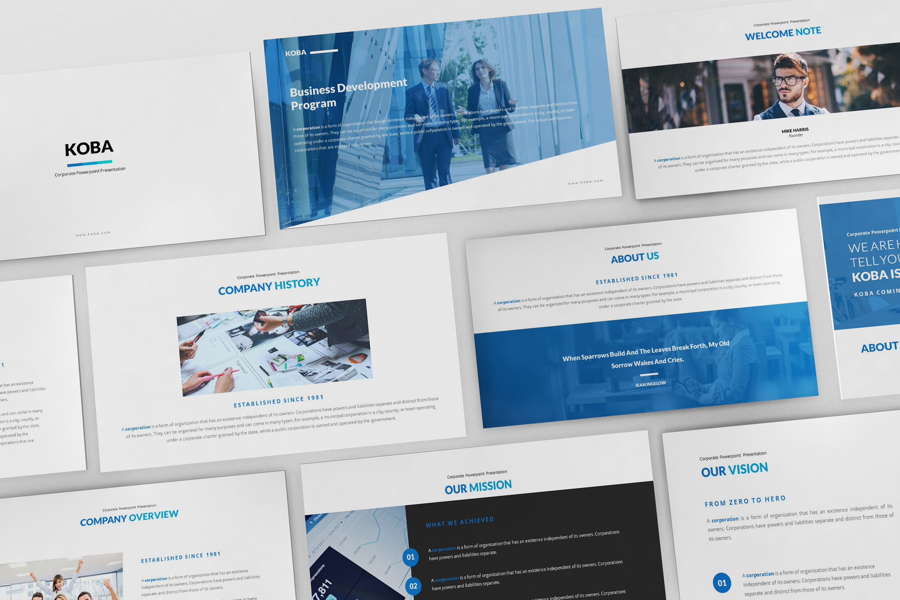 Koba Google Slides Presentation example image 2