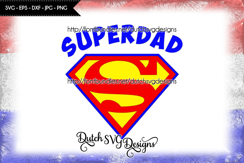 Cutting file Superdad example image 1