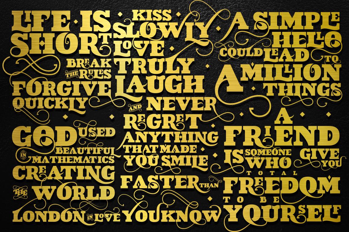 VIDIZ PRO Typeface example image 8