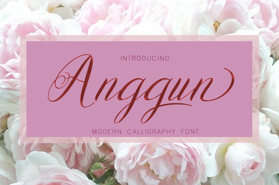 Anggun Script example image 1