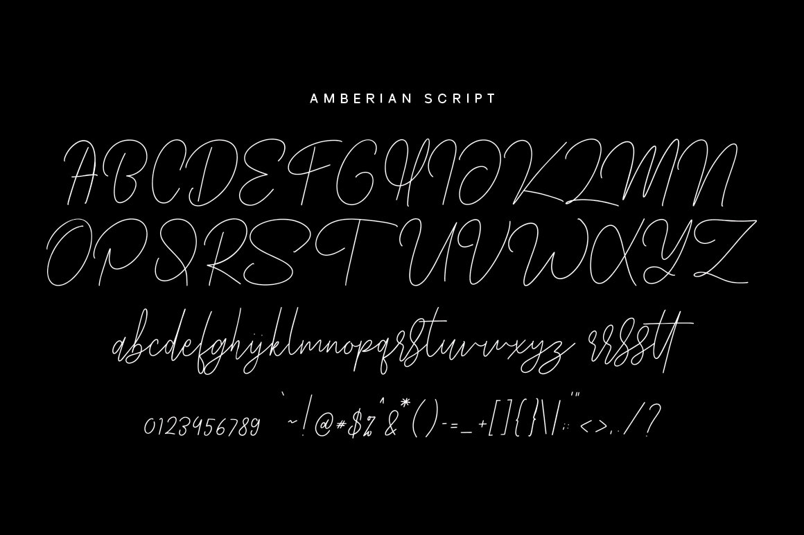 Amberian Font example image 9