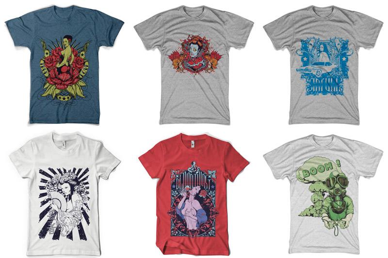 100 T-shirt Designs Vol 4 example image 3