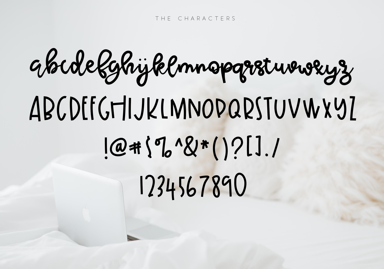 Sunday Morning - Script Font example image 6