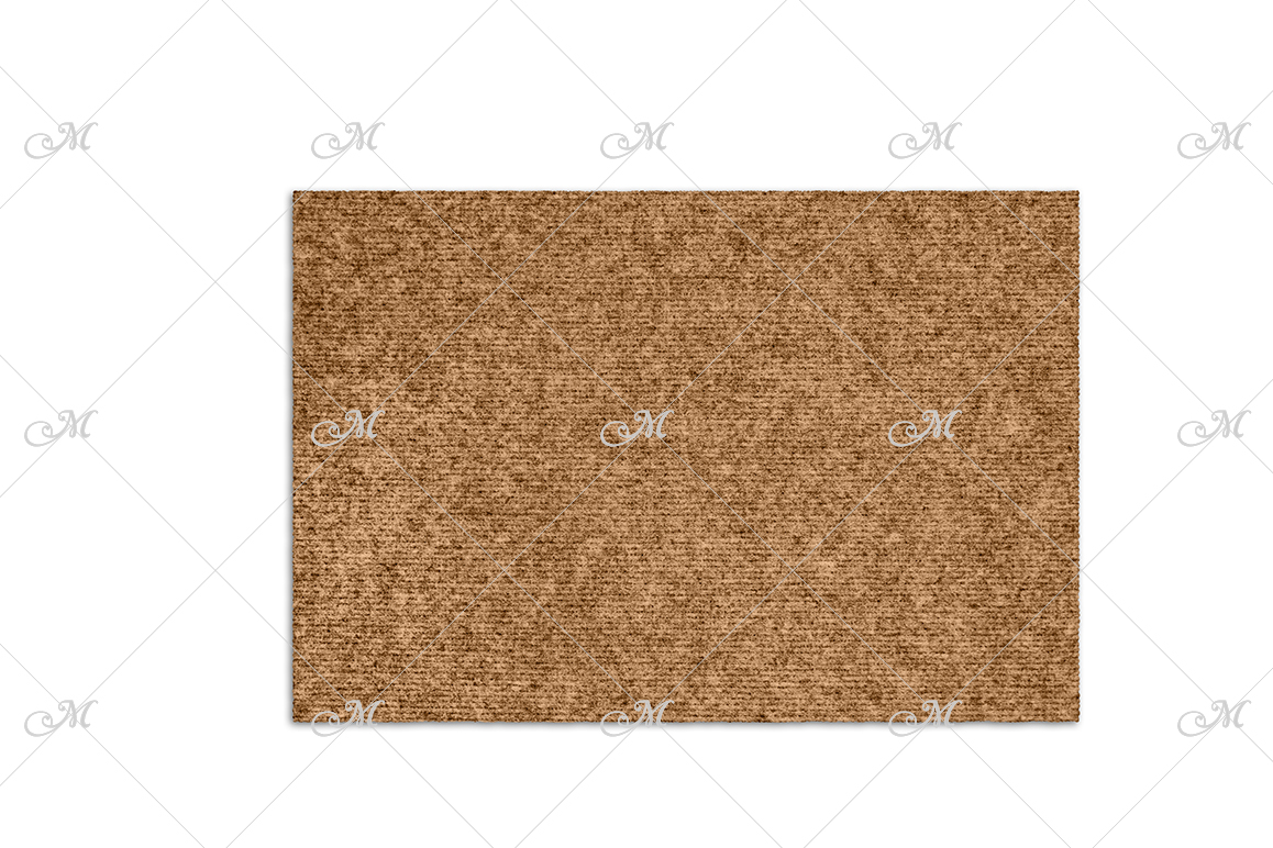 Doormat Mock-up. PSD+JPG example image 3