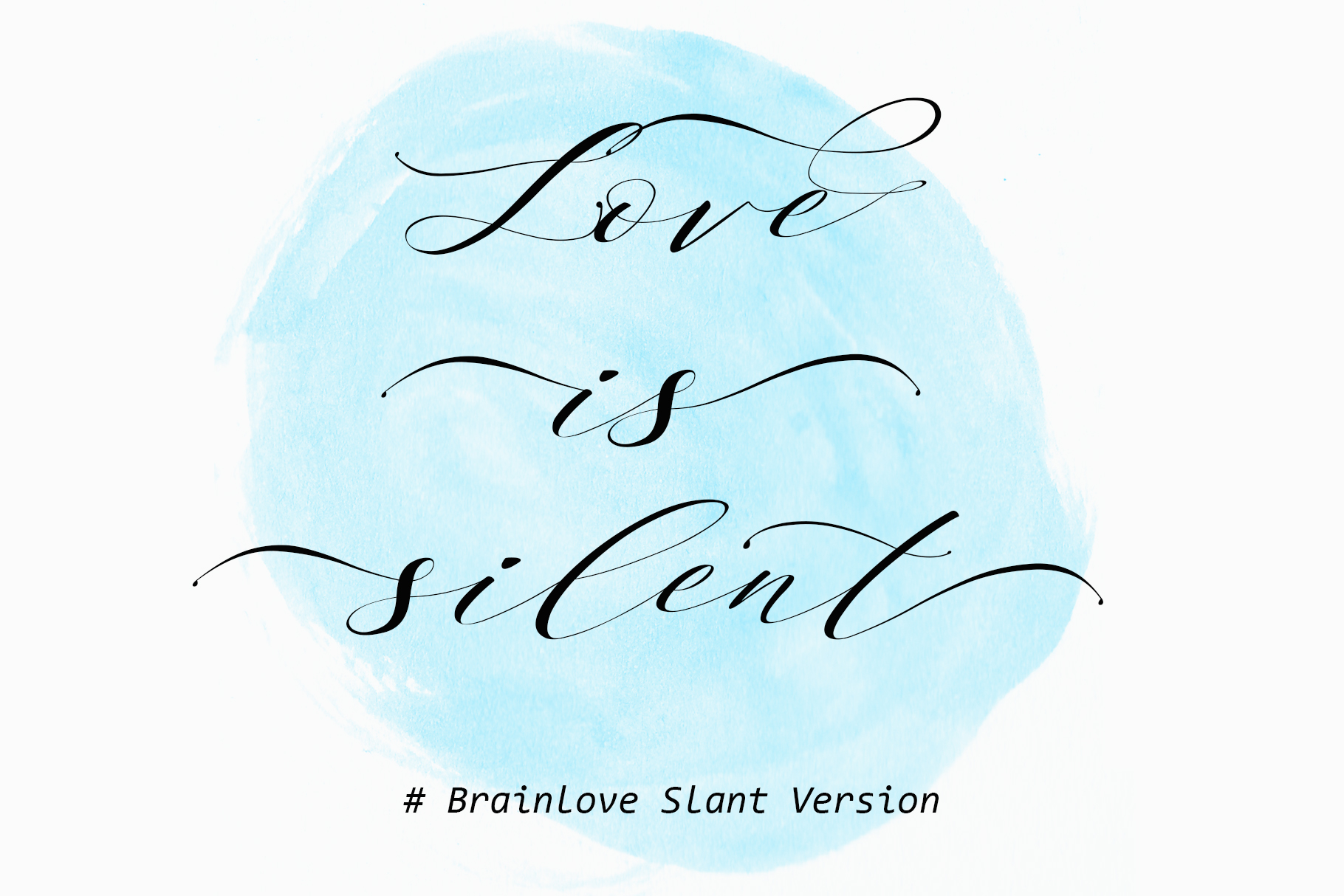 Brainlove - Beautiful Script example image 6