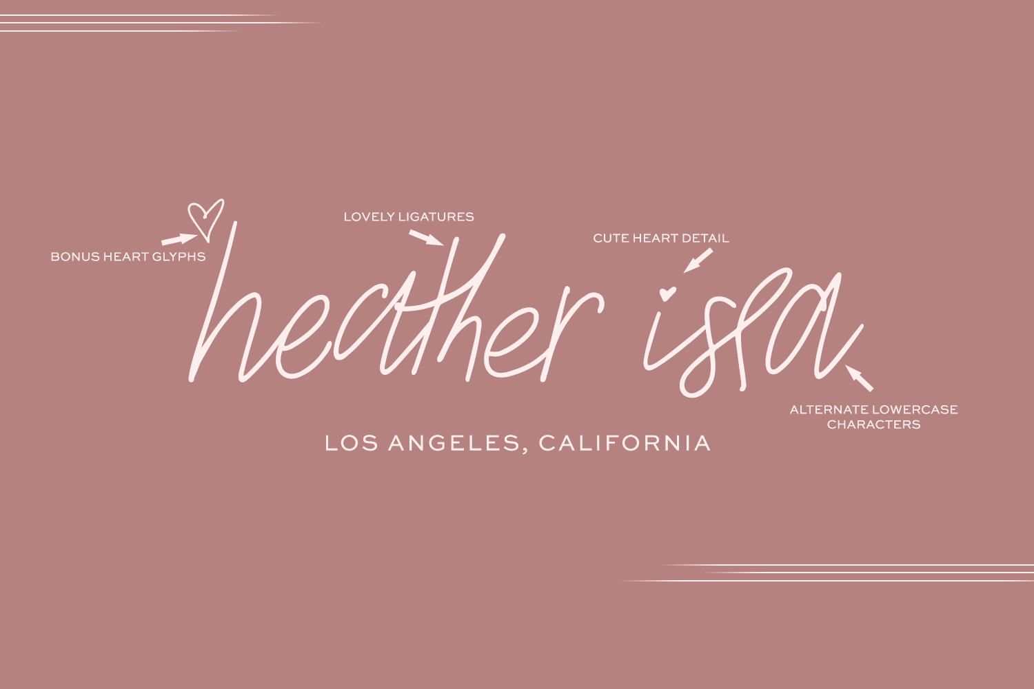 The Signature Font Bundle by Beck McCormick example image 3