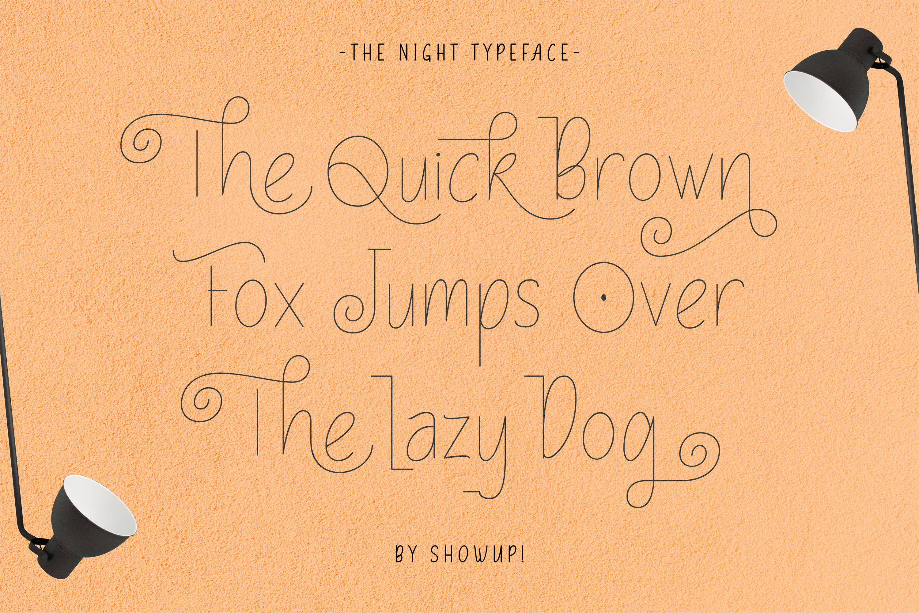 The Night Typeface example image 3
