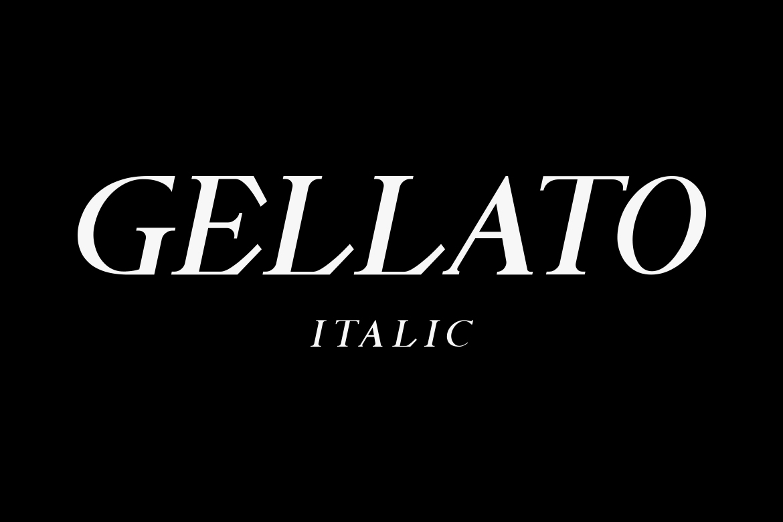 GELLATO // Modern Serif example image 10