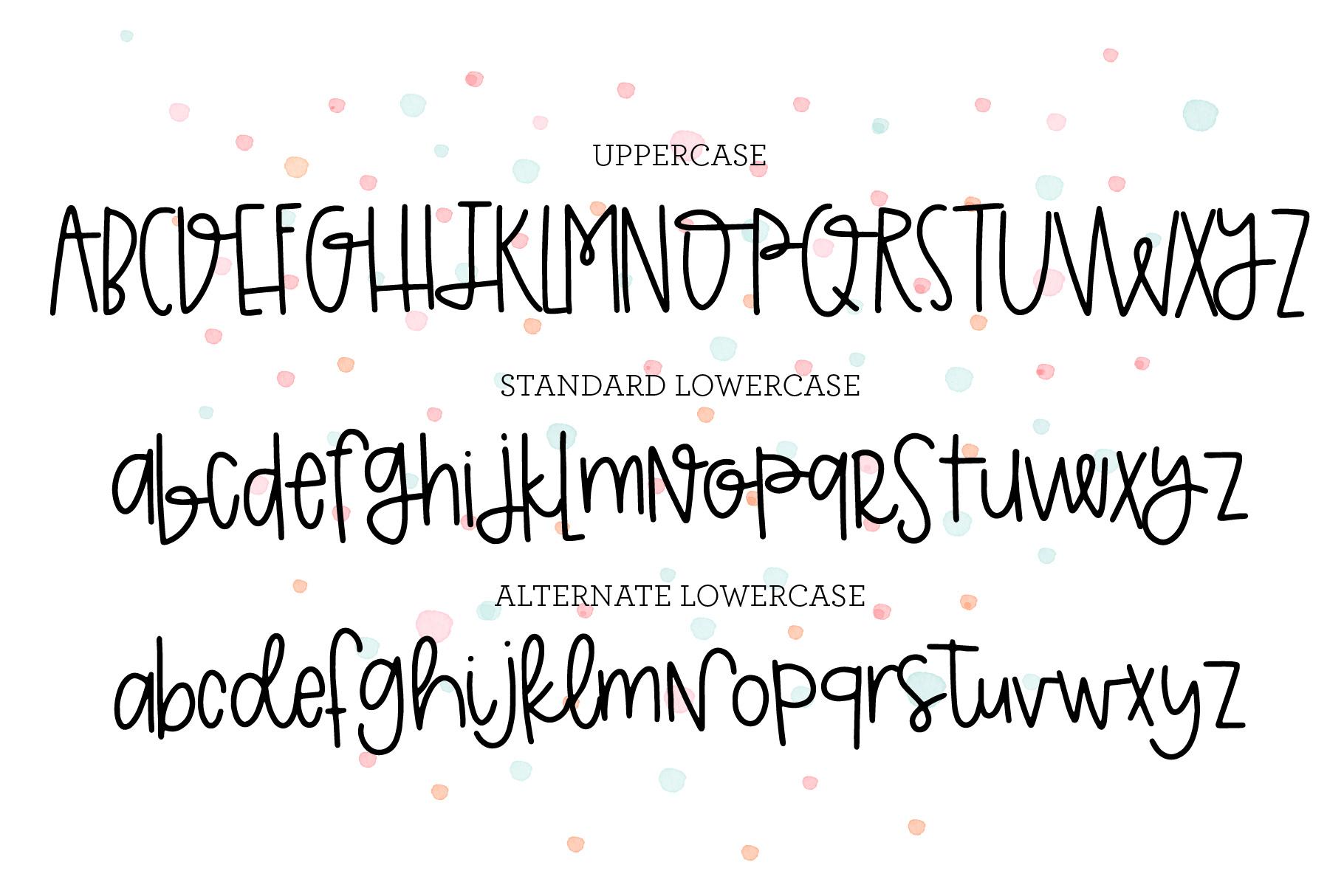 The Basic Font Bundle example image 5
