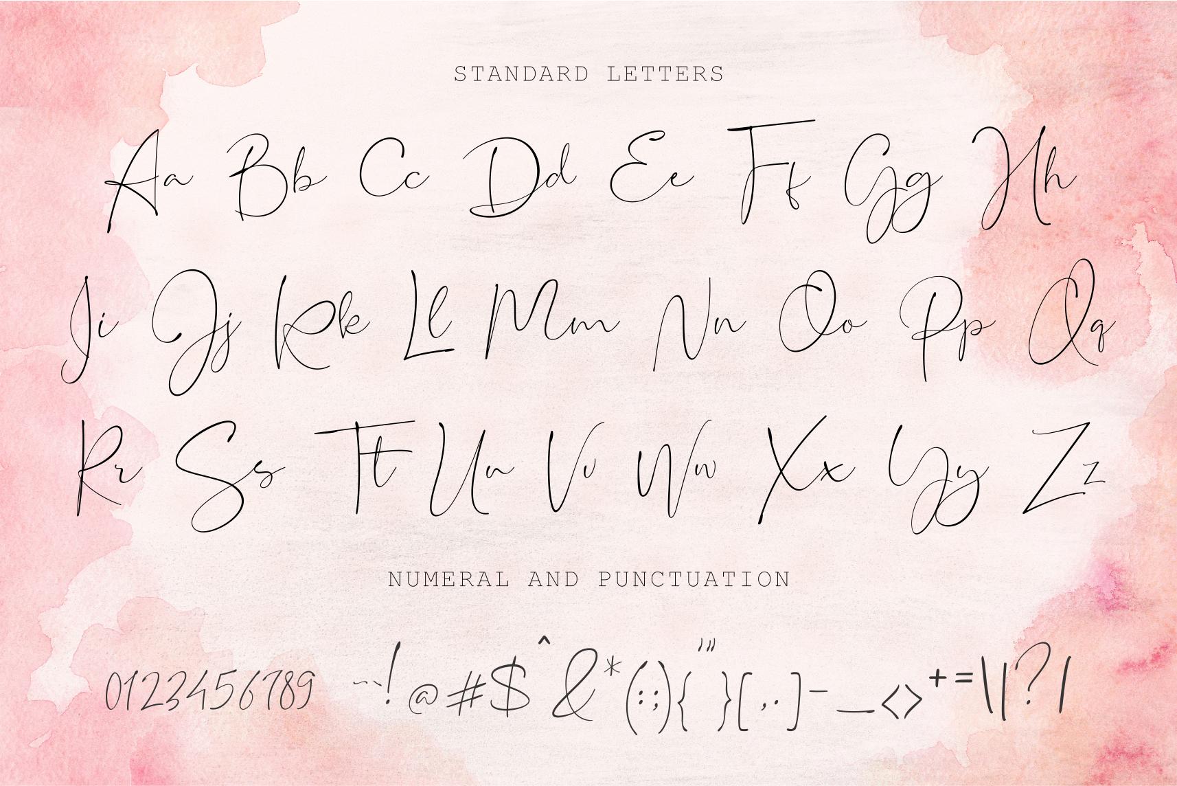 UPDATE SLANT VERSION | Restacts Script Font example image 16